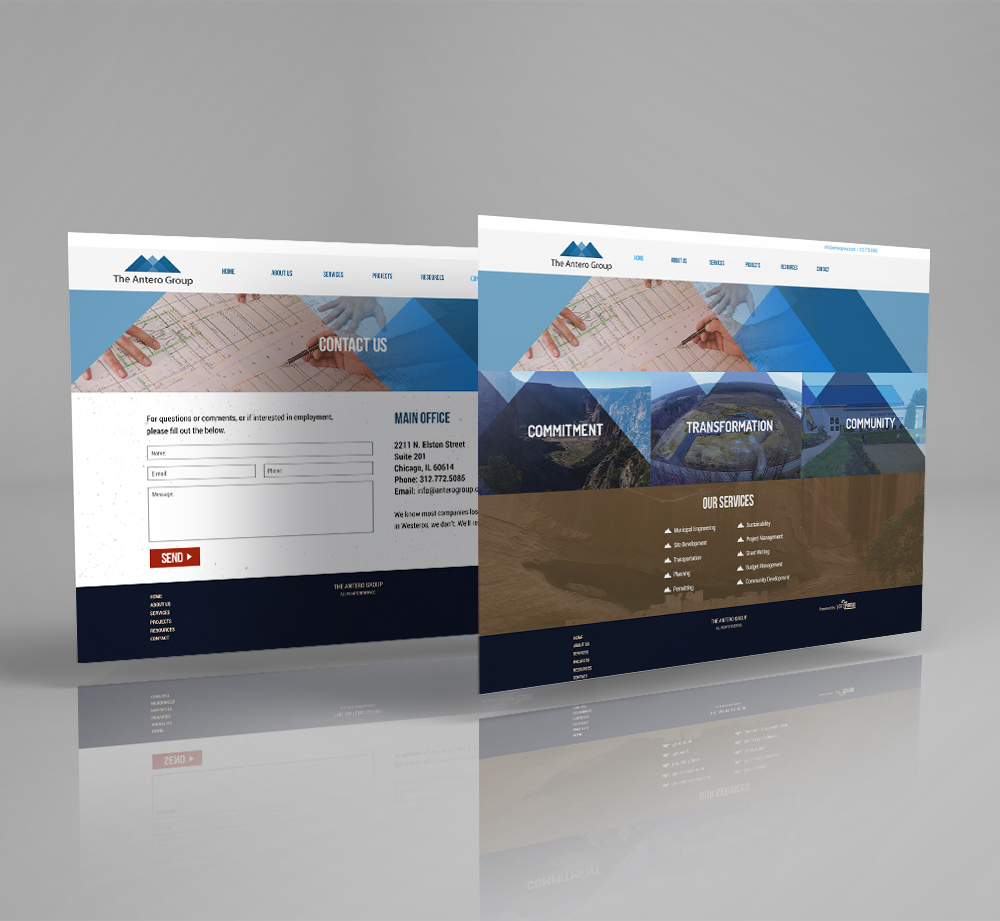 Web Design & Development For Engineering Services - YourPortal