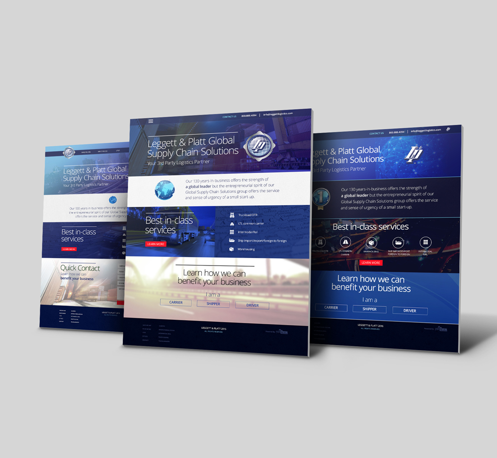 Web Design & Development For Logistics Company - YourPortal