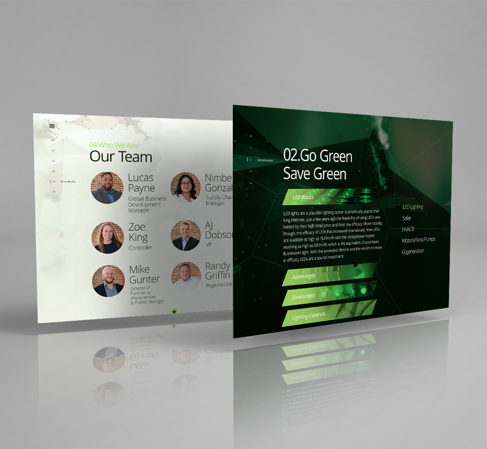 Website Design & Development for Energy Consulting Firm - YourPortal