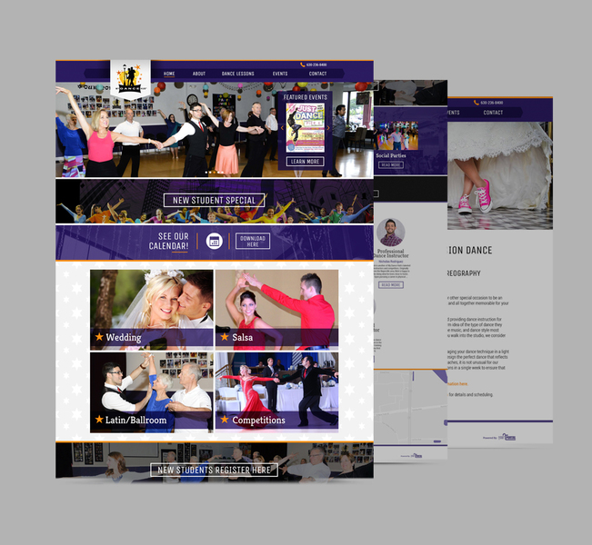 Website Design & Development for Dance Studio - YourPortal